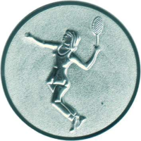 Emblem Tennis Da Ø50mm bronze